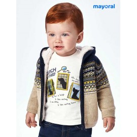 Mayoral Winter Baby Boy Tricot Jacket