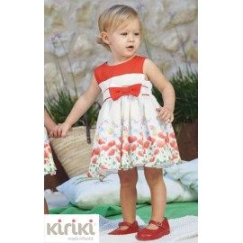 Kiriki Summer Girl Dress Tulips