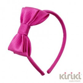 Kiriki Summer Girl Diadem Fuchsia Ceremony Lace