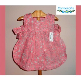 Carmencita Summer 2018 Baby Girl Set Pink and Flowers