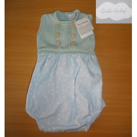 Guti Baby Summer Baby boy Romper Green