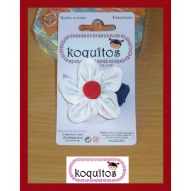 Koquitos Girl Pin Flower Nautic