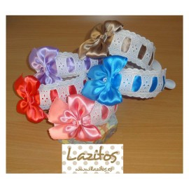 Lazitos Girl Diadems Lace