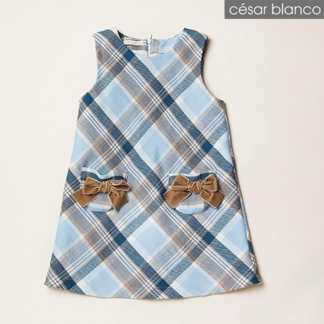 Cesar Blanco Winter Girl Dress British