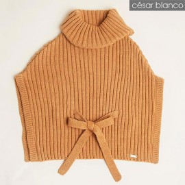 Cesar Blanco Winter Girl Hood Caramel