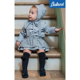 Babine Winter Baby Girl Set Gray