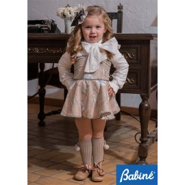 Babine Winter Girl Set Beige