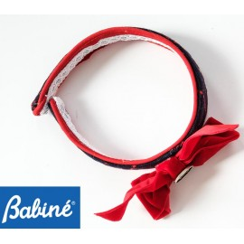 Babine Winter Girl Diadem Red Lace