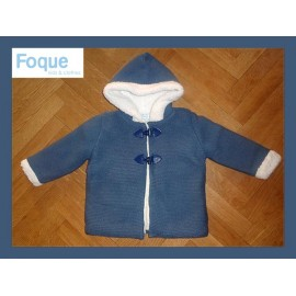 Foque Winter Baby Boy Blue Coat