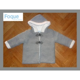 Foque Winter Baby Boy Gray Coat