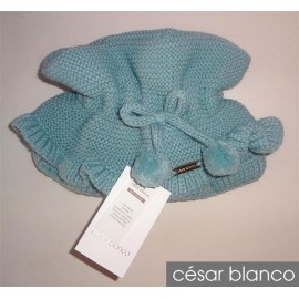 Cesar Blanco Winter Girl Scarf Mint