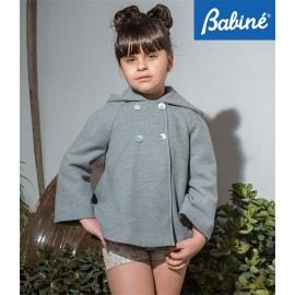 Babine Winter Girl Coat Gray