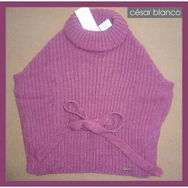 Cesar Blanco Winter Girl Hood Pink
