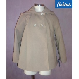 Babine Winter Girl Coat Camel