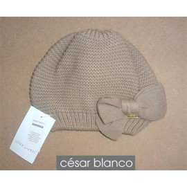Cesar Blanco Winter Girl Hat Camel