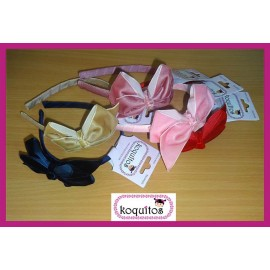 Koquitos Girl Diadems Lace Velvet