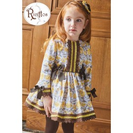 Ricittos Winter Girl Dress Toro Laces