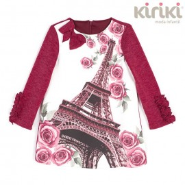 Kiriki Winter Girl Dress Paris Straight