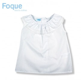 Foque Summer Girl White Shirt