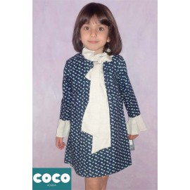 Coco Acqua Winter Girl Dress Elephants