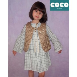 Coco Acqua Winter Girl Dress and Vest