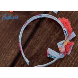 Babiné Summer Girl Diadem Flowers Coral