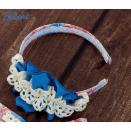 Babiné Summer Girl Diadem Red and Blue