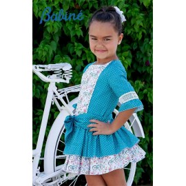 Babiné Summer Girl Dress Bikes and Spots