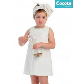 Cocote Summer Girl Dress White