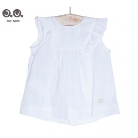 José Varón Summer Girl Shirt White