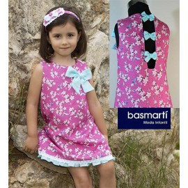 Basmartí Summer Girl Dress Bolonia Printed Straight
