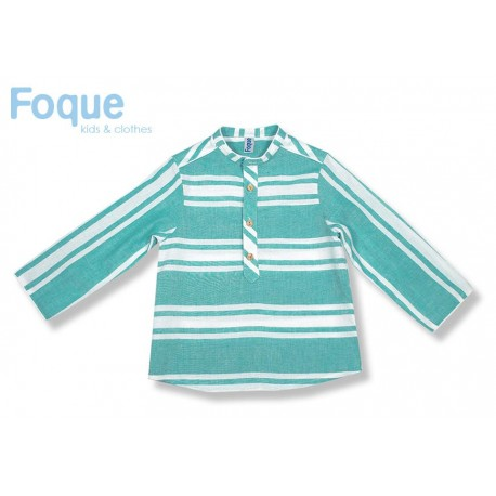 Foque Summer Boy Shirt Monaco