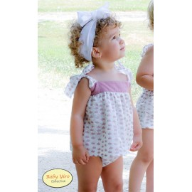 BabyYiro Summer Baby Girl Set Crowns