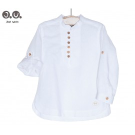 José Varón Summer Boy Shirt White