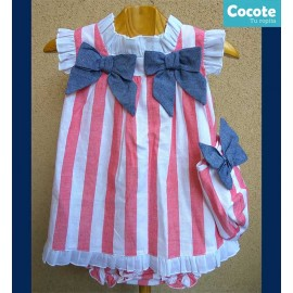 Cocote Summer Baby Girl Dress Nautical
