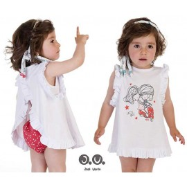 Jose Varon Summer Baby Girl Set Stars