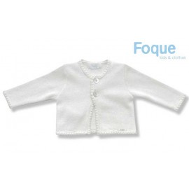 Foque Summer Boy Jacket White Beige