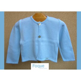 Foque Summer Baby Boy Jacket Light Blue