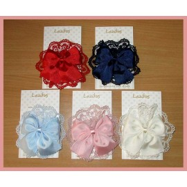 Lazitos Girl Pins Ceremony Lace