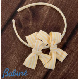 Babiné Summer Girl Diadem Yellow Laces