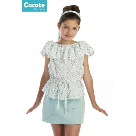 Cocote Summer Girl Set Clouds