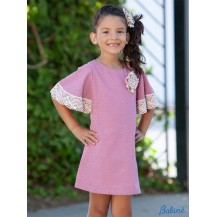 Babiné Summer Girl Dress Straight Pink