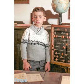 Foque Winter Boy Sweater Algebra