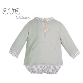Eve Children Winter Baby Boy Set Acqua