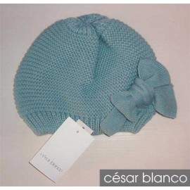 Cesar Blanco Winter Girl Hat Mint