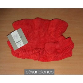 Cesar Blanco Winter Girl Scarf Watermelon