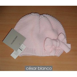 Cesar Blanco Winter Girl Hat Light Pink