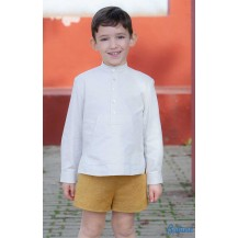 Babine Winter Boy Set White and Ocher