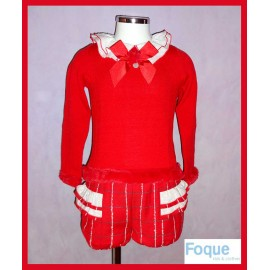 Foque Winter Girl Set Christmas