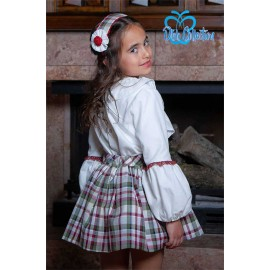 DBB Collection Winter Girl Set White and Squares